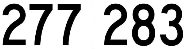 Числа с цифрой 7